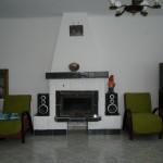 Casa Zan, semineu, TV